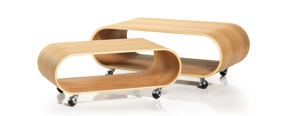 The Velodrome Table in Oiled Oak