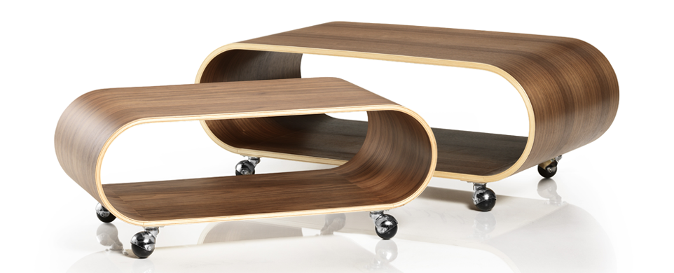 The Velodrome Table in Walnut