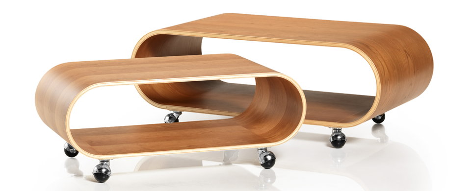 The Velodrome Table in Cherry